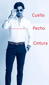 Guía de tallas camisas